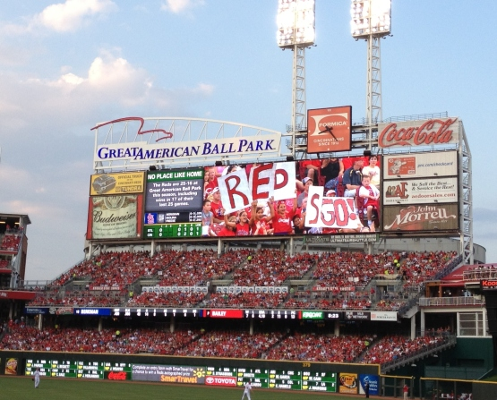 Jumbotron signs